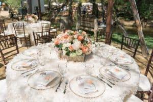 floral wedding rentals