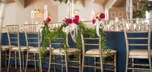 Gold chiavari chairs rentals