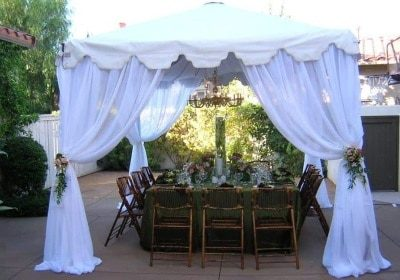 Dining Table Canopy for Rent